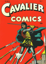 Cover For Cavalier Comics