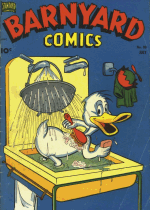 Cover For Barnyard Comics
