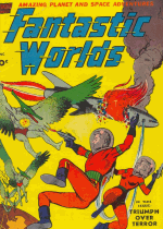 Cover For Fantastic Worlds