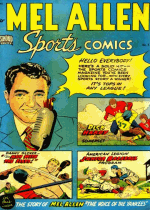 Cover For Mel Allen Sports Comics