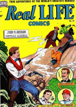 Cover For Real Life Comics