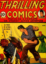 Cover For Thrilling Comics