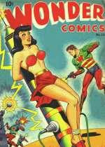 Cover For Wonder Comics