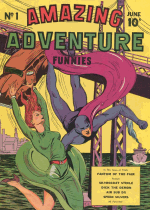 Cover For Amazing Adventure Funnies