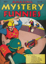 Cover For Amazing Mystery Funnies