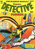 Cover For Keen Detective Funnies