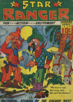Cover For Star Ranger Funnies