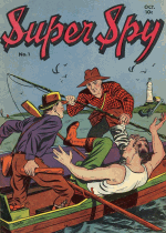 Cover For Super Spy