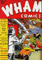 Cover For Wham Comics