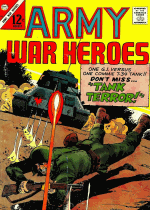 Cover For Army War Heroes