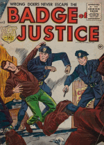 Cover For Badge of Justice