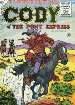 Cover For Cody of the Pony Express