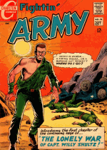 Cover For Fightin' Army