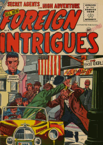 Cover For Foreign Intrigues