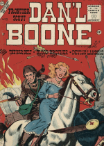 Cover For Frontier Scout, Dan'l Boone
