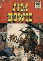 Cover For Jim Bowie