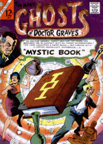 Cover For The Many Ghosts of Doctor Graves