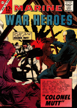 Cover For Marine War Heroes