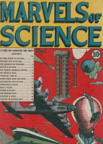 Cover For Marvels of Science
