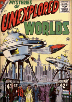 Cover For Mysteries of Unexplored Worlds