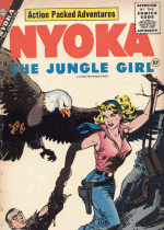 Cover For Nyoka the Jungle Girl