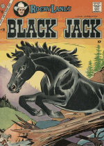 Cover For Rocky Lane's Black Jack