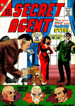 Cover For Secret Agent