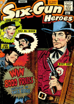 Cover For Six-Gun Heroes