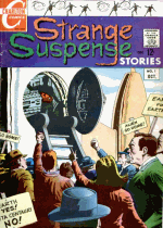 Cover For Strange Suspense Stories