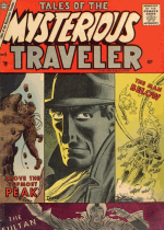 Cover For Tales of the Mysterious Traveler
