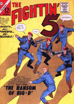 Cover For Fightin' Five