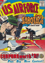 Cover For U.S. Air Force Comics