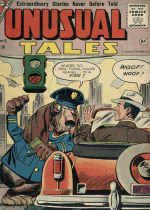 Cover For Unusual Tales