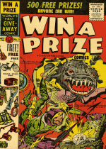 Cover For Win a Prize Comics