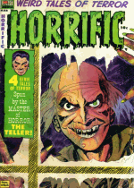 Cover For Horrific