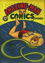 Cover For Amazing Man