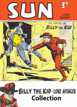 Cover For Billy the Kid (UK Sun) Archives