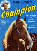 Cover For Gene Autry's Champion