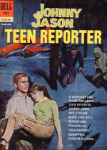 Cover For Johnny Jason, Teen Reporter