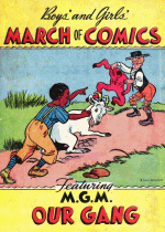 Cover For March of Comics