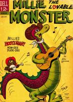 Cover For Millie the Lovable Monster