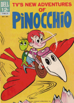 Cover For New Adventures of Pinocchio