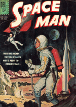 Cover For Space Man