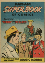 Cover For Super Book of Comics