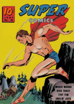 Cover For Super Comics