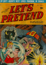 Cover For Let's Pretend