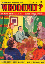 Cover For Whodunit