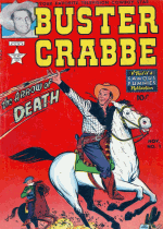 Cover For Buster Crabbe