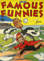 Cover For Famous Funnies