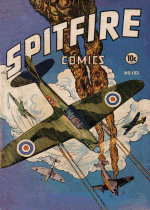 Cover For Spitfire Comics